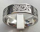 Animal Kingdom Celtic Wedding Ring