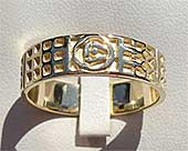 Charles Rennie Mackintosh Rose Celtic Wedding Ring