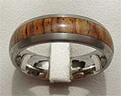 GETi Titanium & Wooden Wedding Ring