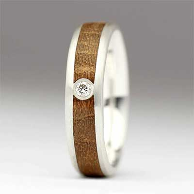 Justin Duance Wood Ring R72D