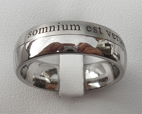 Twin Finish Custom Wedding Ring